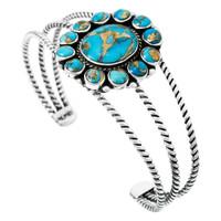 Matrix Turquoise Bracelet Sterling Silver B5572-C84