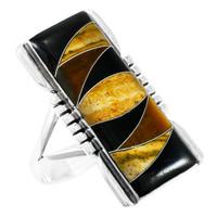 Tiger Eye Ring Sterling Silver R2017-C33