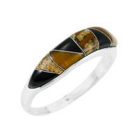 Tiger Eye Ring Sterling Silver R2052-C33