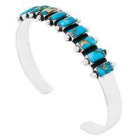 Matrix Turquoise Bracelet Sterling Silver B5441-C84