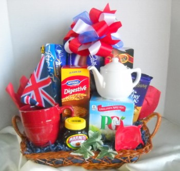 British Gift Basket Delivery Boston