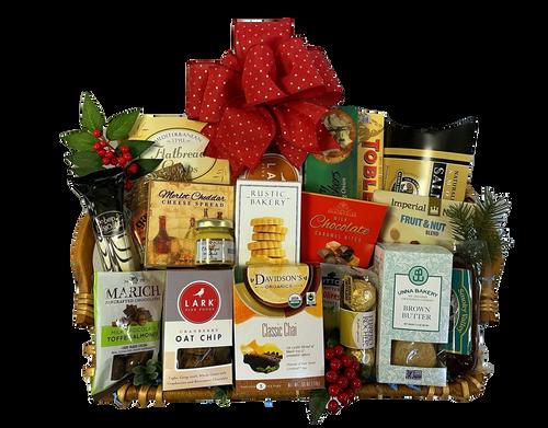 Christmas gourmet trays Boston & USA