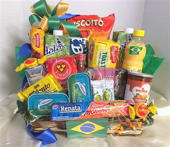 Gift Basket Delivery Boston & X Large Brazilian Gourmet Tray