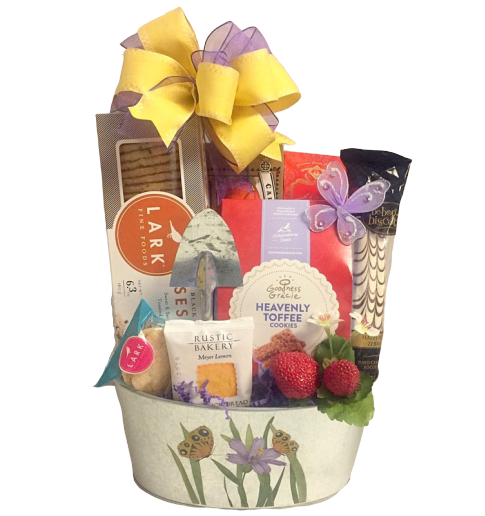 Easter and Spring gift basket delivery Boston