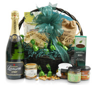 Champagne and food gifts to the UK