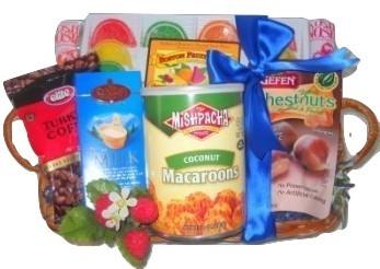 Passover/Kosher gift baskets to Boston