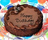 Chocolate Truffle Birthday cake