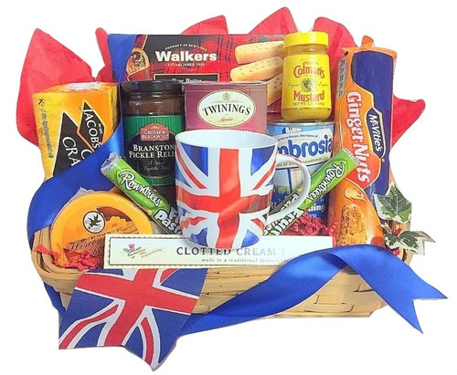British Gift basket delivery Boston and across the USA