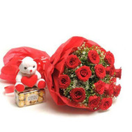 Send Roses and chocolates to India