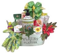 Fleurs &  Planter Tin