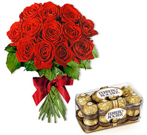 Send Roses & Chocolates to Dubai UAE