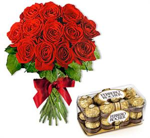 Send Roses & Chocolates to Dubai UAE