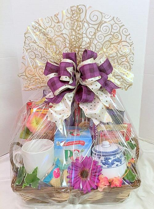 British tea basket donation