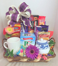 USA - Donation idea British Tea basket
