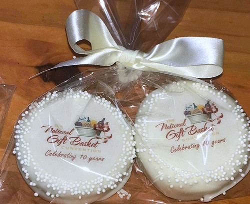 Custom chocolate covered Cookies