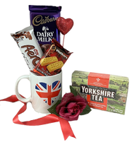 British gift for Valentines  to Boston or USA