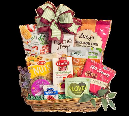 Gluten Free gifts baskets to Boston & USA