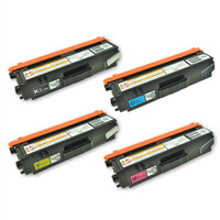 Compatible Brother TN315 Toners 4-Pack of Cartridges: 1 each of Black, Cyan, Yellow, Magenta