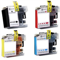 Compatible Brother LC103 Ink High Yield Cartridges 4 Pack Bundle