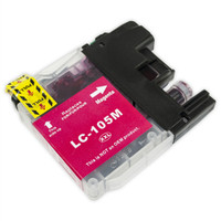 Compatible Brother LC-105M Super High Yield Magenta Ink Cartridge - Replacement Ink for MFC-J4310DW, J4410DW, J4510DW