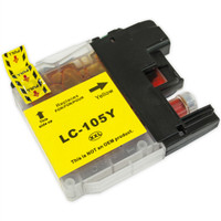 Compatible Brother LC-105Y Super High Yield Yellow Ink Cartridge - Replacement Ink for MFC-J4310DW, J4410DW, J4510DW