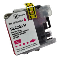 Compatible Brother LC203M Magenta Ink Cartridge - Replacement Ink Catridge for MFC-J4320DW. MFC-J4420DW, MFC-J4620DW, MFC-J5520DW, MFC-J5620DW, MFC-J5720DW