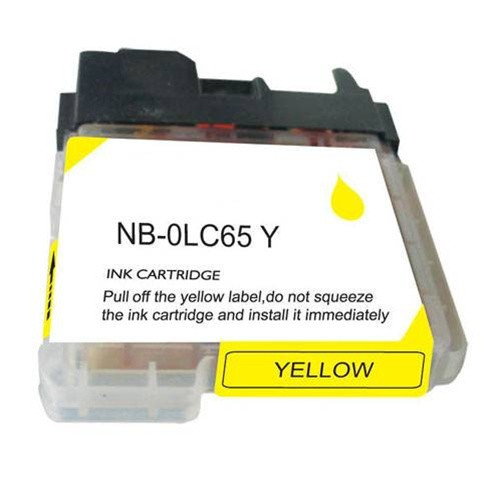 Compatible with Brother LC65Y Yellow Ink Cartridge