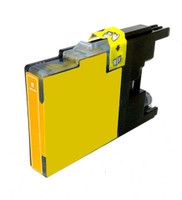 Compatible Brother LC75Y High Yield Yellow Ink Cartridge
