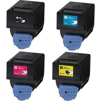 Remanufactured Canon GPR23 Laser Toner Cartridges Set of 4 for ImageRunner C3080i, C3480i, C2550