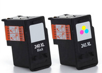 Compatible Canon PG-240XL, CL-241 Ink Cartridges Set