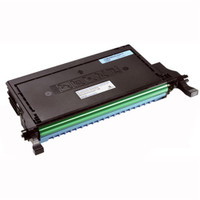 Remanufactured Dell 330-3792 (J394N) High Yield Cyan Laser Toner Cartridge - Replacement Toner Cartridge for Dell 2145cn