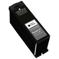 Remanufactured Dell Y498D (Series 21) Black Ink Cartridge - Replacement Ink for Dell Photo all-in-one V313