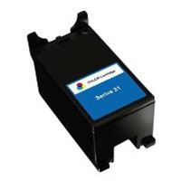 Remanufactured Dell Y499D (Series 21) Color Ink Cartridge - Replacement Ink for Dell Photo all-in-one V313