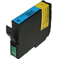 Remanufactured Epson T032220 (T0322) Cyan Ink Cartridge - Replacement Ink for Epson Stylus C70, C80