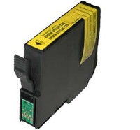 Remanufactured Epson T032420 (T0324) Yellow Ink Cartridge - Replacement Ink for Epson Stylus C70, C80