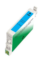 Remanufactured Epson T044220 (T0442) Cyan Pigment Based Ink Cartridge