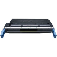 Remanufactured HP C9720A (641A) Black Laser Toner Cartridge - Replacement Toner for HP Color LaserJet 4600 & 4650