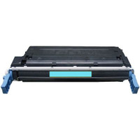 Remanufactured HP C9721A (641A) Cyan Laser Toner Cartridge - Replacement Toner for HP Color LaserJet 4600 & 4650