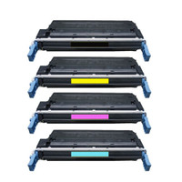 HP 641A Toner Cartridges 4Pack For HP Color LaserJet 4600, 4650 Series