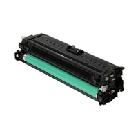 Compatible HP CE270A (650A) Black Laser Toner Cartridge - Replacement Toner for Color LaserJet CP5525