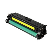 Compatible HP CE272A (650A) Yellow Laser Toner Cartridge - Replacement Toner for Color LaserJet CP5525