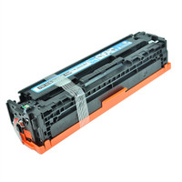 Remanufactured HP CE321A (HP 128A) Cyan Laser Toner Cartridge - Replacement Toner for HP Color LaserJet CM1415, CP1525
