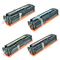 HP 128A Toner Cartridges 4Pack (CE320A, CE321A, CE322A, CE323A) For HP Color LaserJet CM1415, CP1525