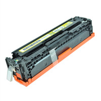 Remanufactured HP CE322A (HP 128A) Yellow Laser Toner Cartridge - Replacement Toner for HP Color LaserJet CM1415, CP1525
