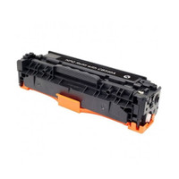 Remanufactured HP CB540A (HP 125A) Black Laser Toner Cartridge - Replacement Toner for HP Color LaserJet CP1215, CP1515, CM1312