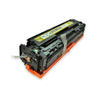 Remanufactured HP CB542A (HP 125A) Yellow Laser Toner Cartridge - Replacement Toner for HP Color LaserJet CP1215, CP1515, CM1312