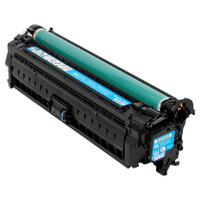 Compatible HP CE741A Cyan Laser Toner Cartridge for Color LaserJet CP5225