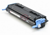 Remanufactured HP Q6000A Black Laser Toner Cartridge - Replacement Toner for HP Color LaserJet 1600, 2600, CM1015, CM1017