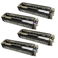 HP 201X Toner, High Yield Cartridges 4Pack (CF400X, CF401X, CF402X, CF403X)