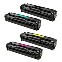 Compatible HP 410A Toner Cartridges CF410A CF411A CF412A CF413A Value Pack